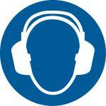 Warnsymbol Gehörschutz