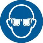 Warnsymbol Augenschutz