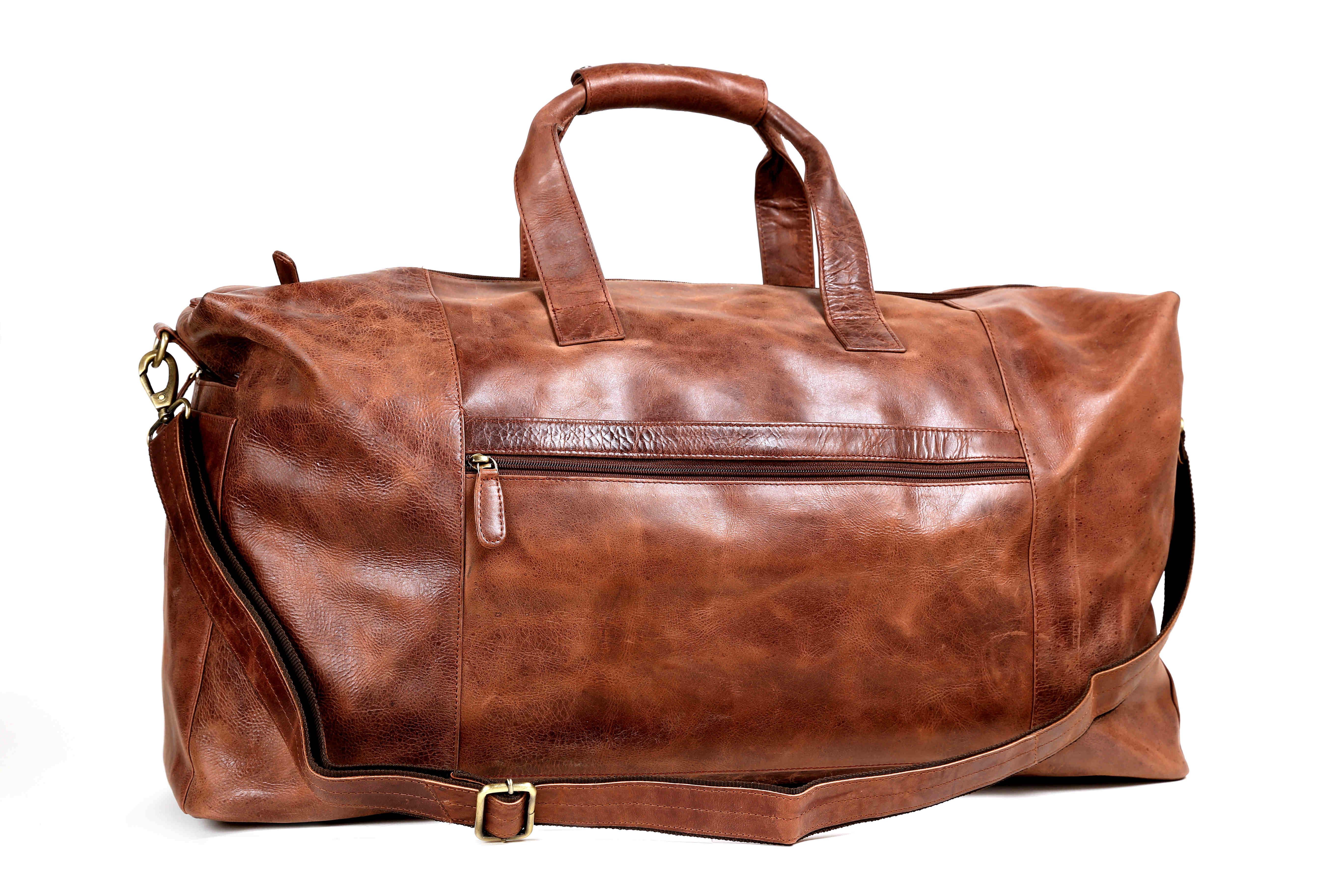 Vintage Leder Reisetasche