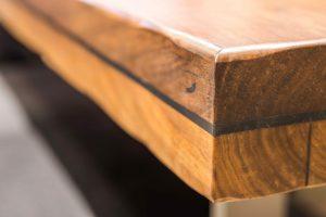 Edle Holztischplatte